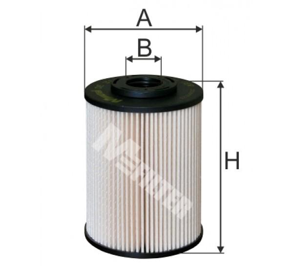DE 3139 Фільтр для фільтрування палива у ДВЗ