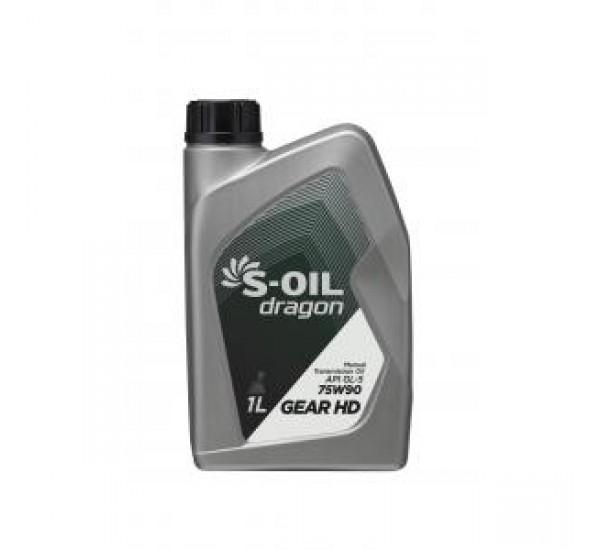 DRAGON GEAR HD 75W90 Олива трансмісійна напівсинтетична 1л.