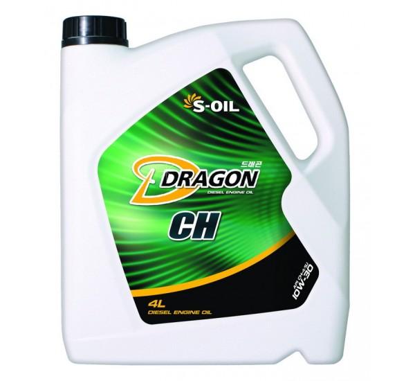 DRAGON CH-4/SJ 10w30 Олива моторна напівсинтетична 4л.