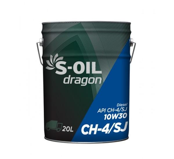 DRAGON CH-4/SJ 10w30 Олива моторна напівсинтетична 20л.