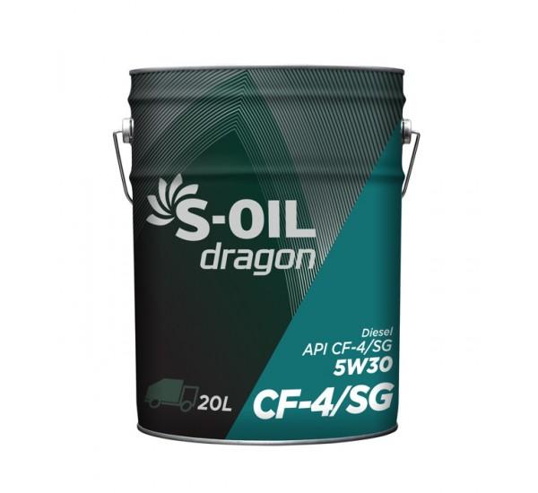 DRAGON CF-4/SG 5W30  дизельная полусинтетика 20л