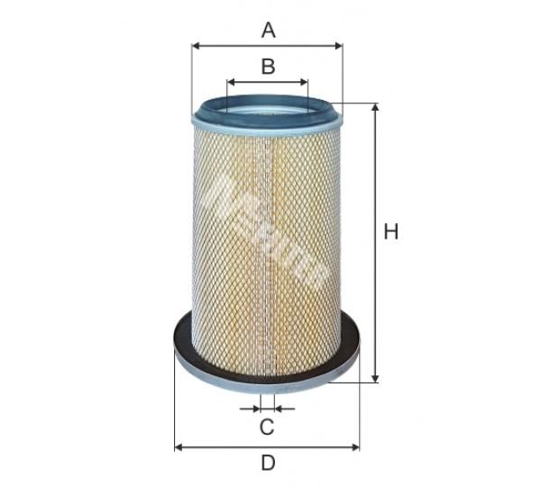 A 1072 Фільтр повітряний