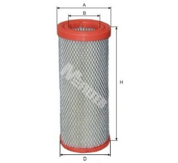 A 1076 Фільтр забору повітря для ДВЗ