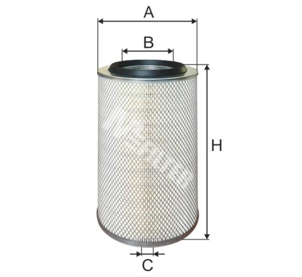 A 118 Фільтр забору повітря для ДВЗ