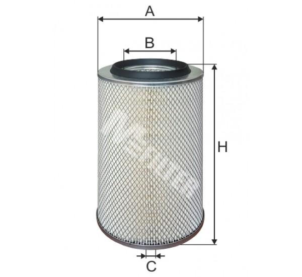 A 119 Фільтр повітряний