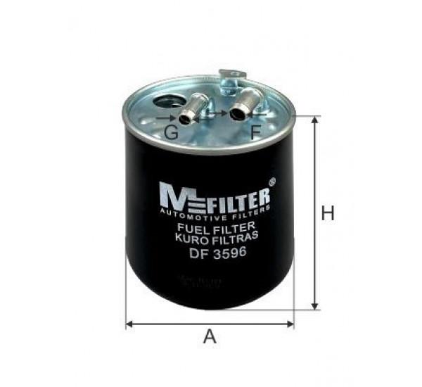 DF 3596 Фільтр для фільтрування палива у ДВЗ