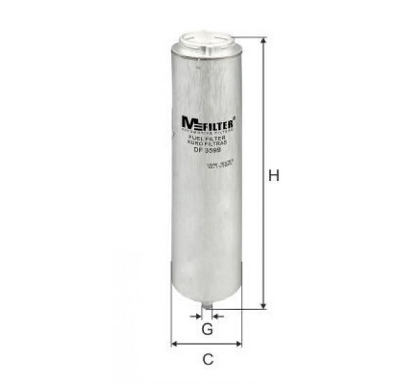 DF 3599 Фільтр для фільтрування палива у ДВЗ