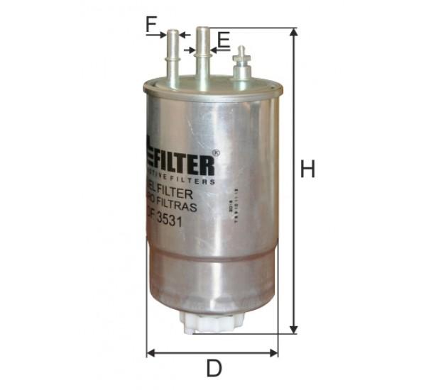 DF 3531 Фільтр для фільтрування палива у ДВЗ