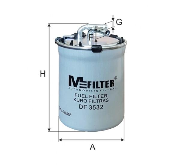 DF 3532 Фільтр для фільтрування палива у ДВЗ