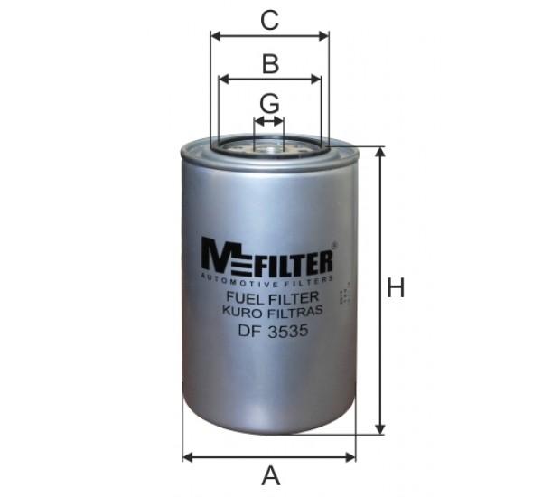 DF 3535 Фільтр для фільтрування палива у ДВЗ